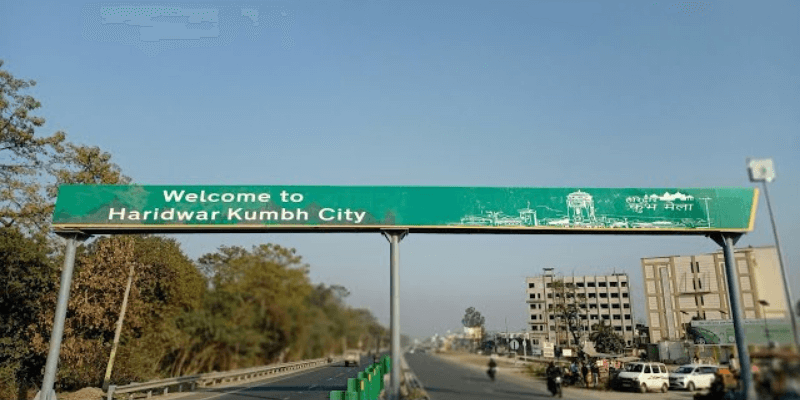 How to reach Haridwar by road