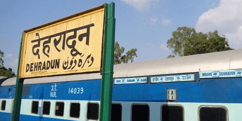 How to reach Dehradun by train